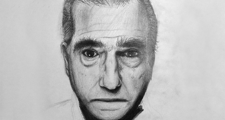 Martin Scorsese drawing