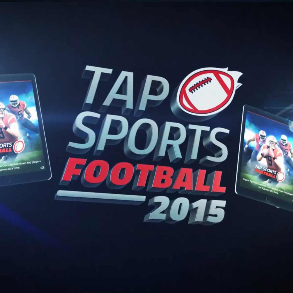 Thumbnail for the Tap Sports Football 3D animated explainer
